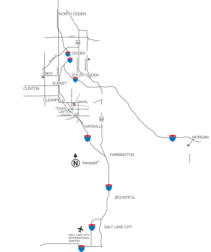 Image Result For Map Of Weber State
