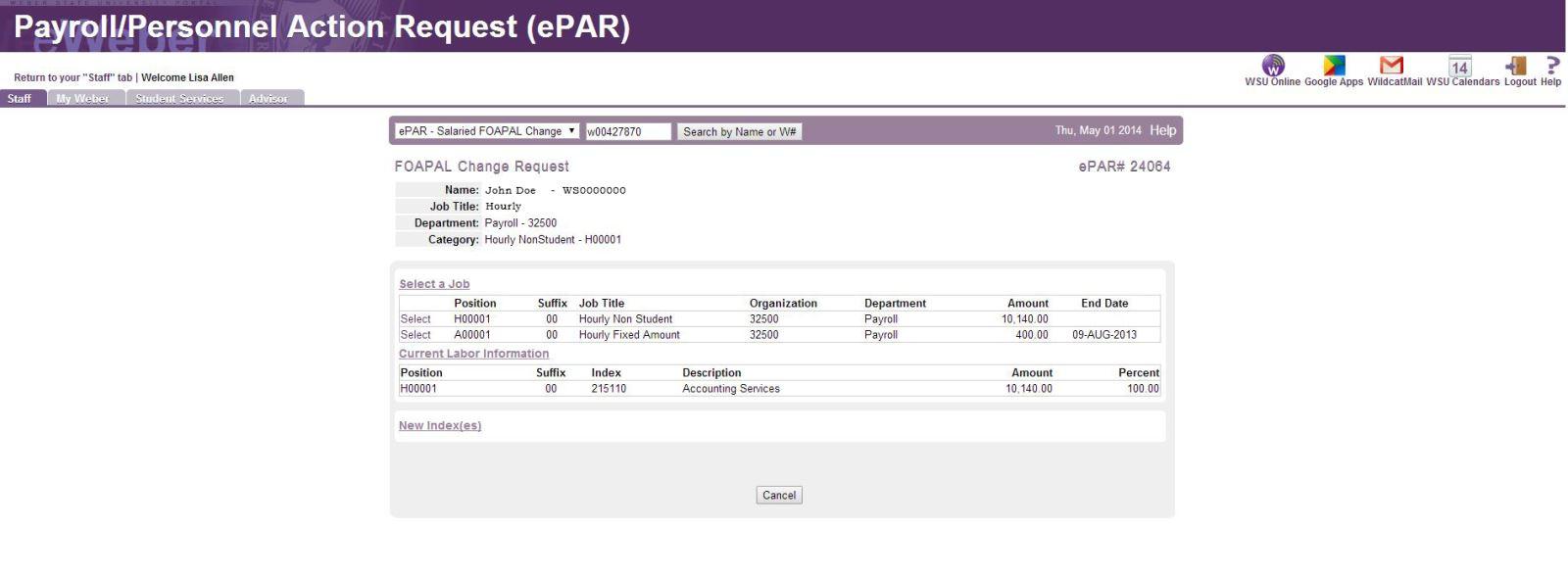 ePAR example two